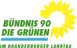 Logo BÜNDNIS 90/DIE GRÜNEN im Brandenburger Landtag