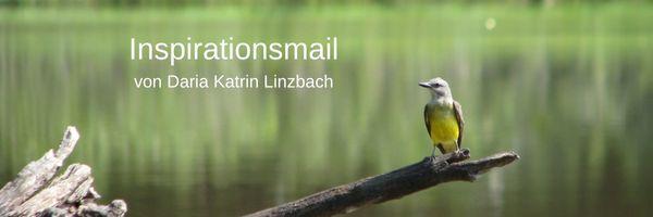 Anmeldung zur Inspirationsmail von Daria Katrin Linzbach