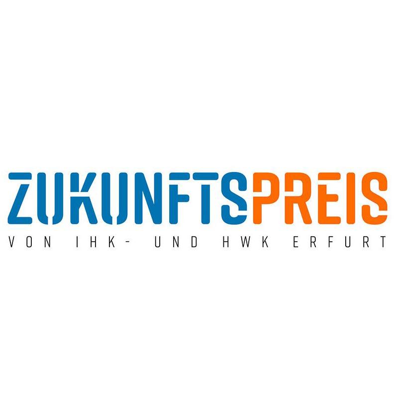 Logo Zukunftspreis IHK Erfurt und HWK Erfurt