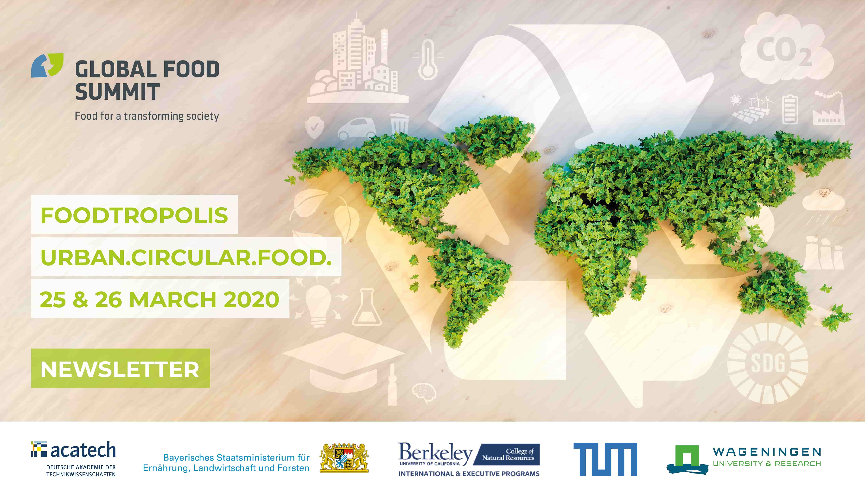 Teilnehmer des Global Food Summit 2019