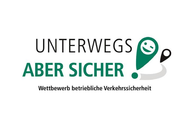 Logo Wettbewerb Unterwegs – aber sicher