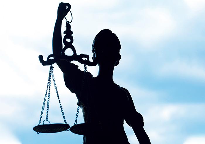 Bild der Justitia