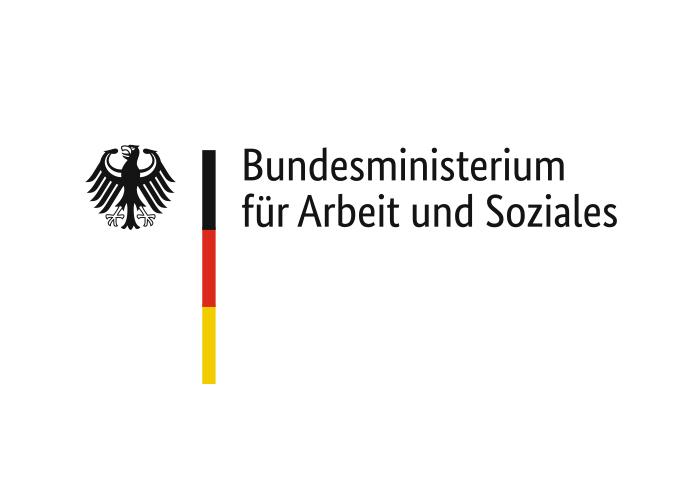 """Logo """"Bundesministerium für Arbeit und Soziales"""""""
