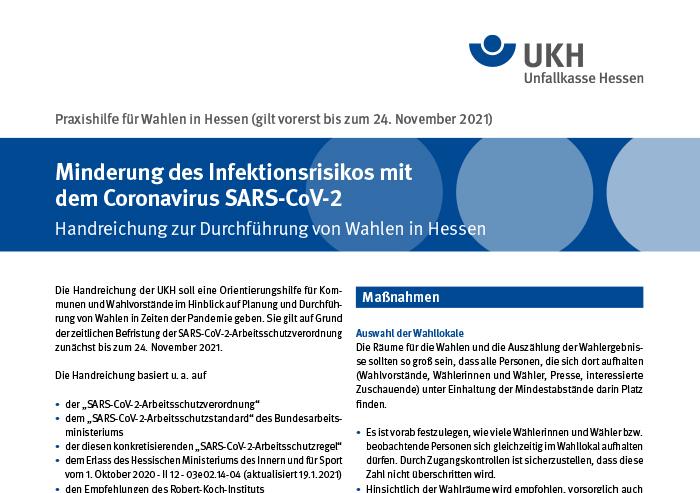 """Praxishilfe """"Handreichung zur Bundestags- und Kommunalwahl"""""""