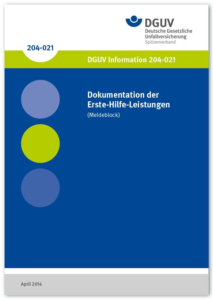 DGUV Information 2014-021