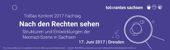 17. Juni | Fachtag Nach den Rechten sehen | Dresden