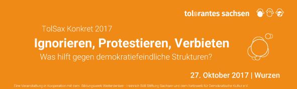 27.10. | Ignorieren, Protestieren, Verbieten | Wurzen