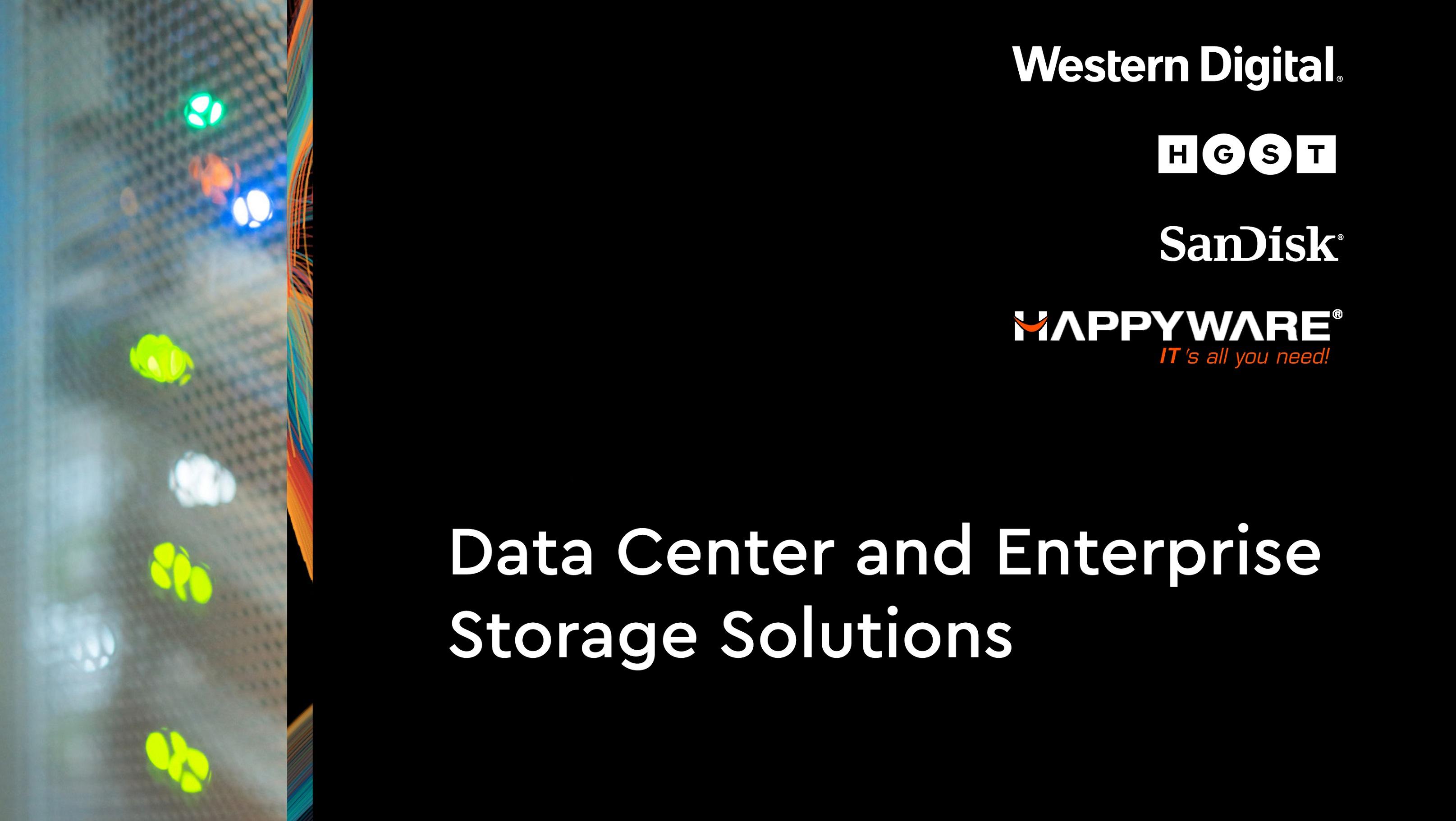 HGST Datacenter + Enterprise SSD und HDD Portfolio