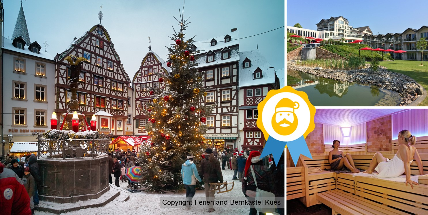 Wdventurlaub an der Mosel - Wellness, Weihnachtsmärkte und Moselschmankerl