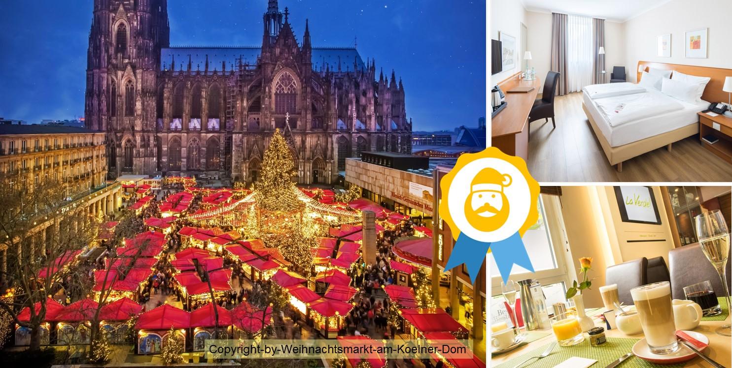 Weihnachtsmarkt am Dom in Köln Best Western Hotel