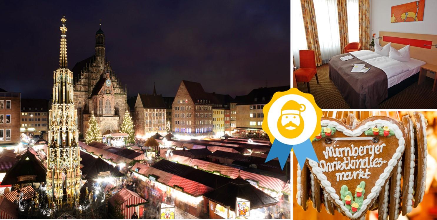 Christkindlesmarkt in Nürnberg im Noris Hotel