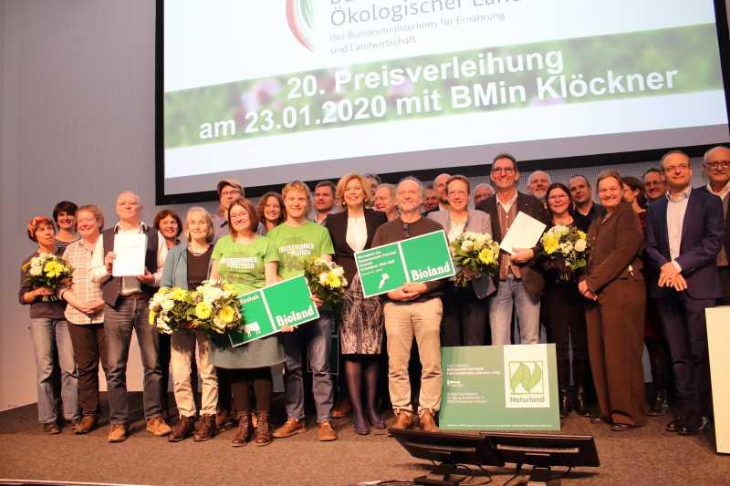 Bundespreis Ökologischer Landbau vergeben