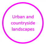 Image stating that Leeds has urban and countryside landscapes
