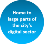 The regeneration district is already home to large parts of the city's digital sector