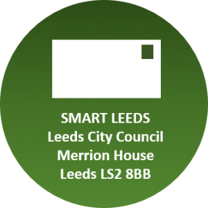 Write to us at Smart Leeds, Leeds City Council, Merrion House, Leeds, LS2 8BB