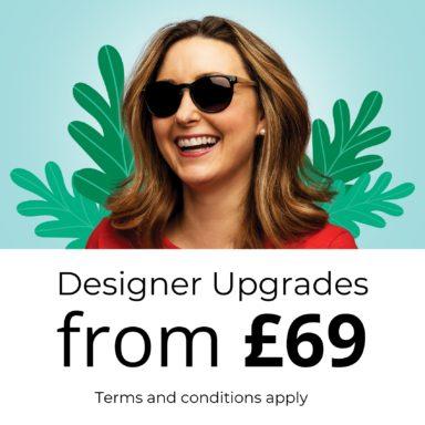 Thumbnail Upgrade To Designer Sunglasses