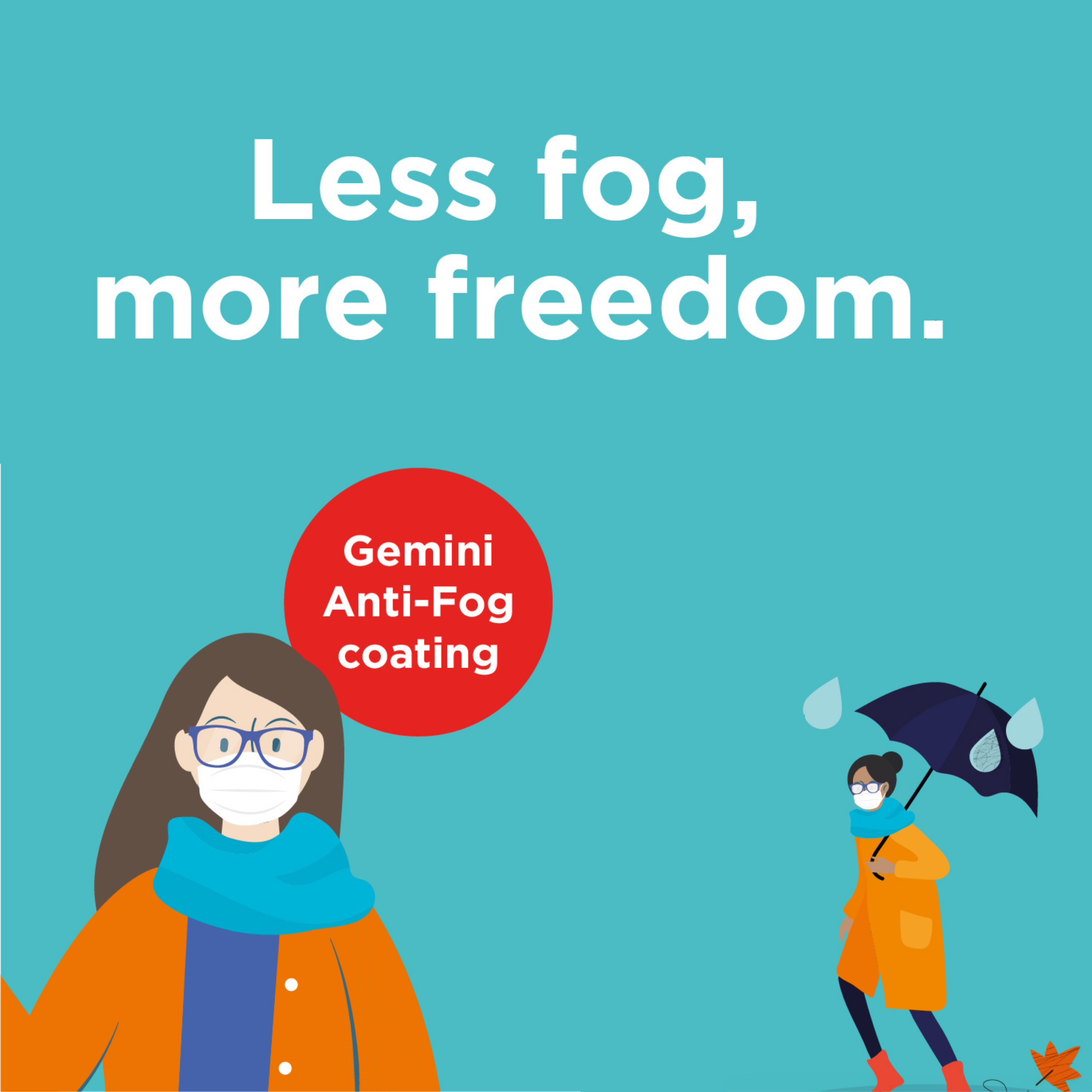 Anti-Fog lens coating - Available Now