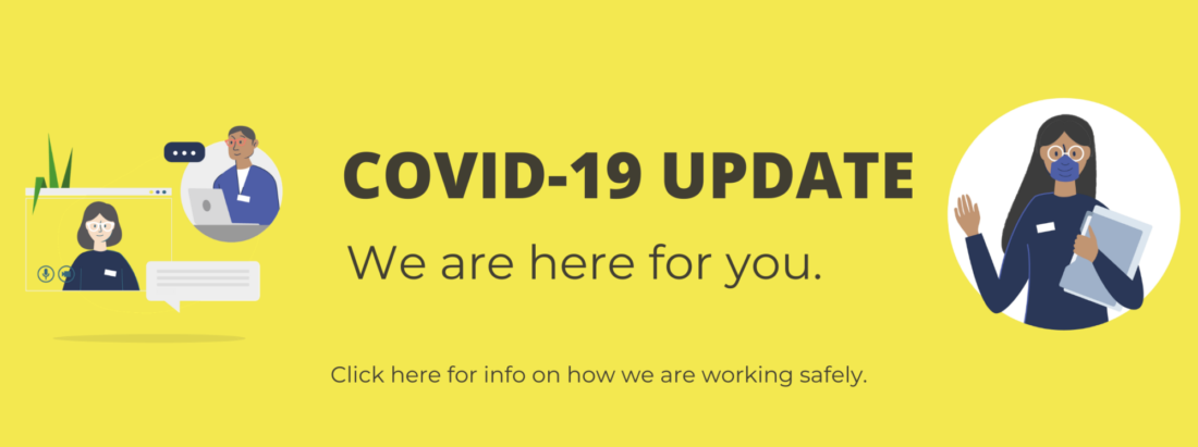 COVID-19 UPDATE - What to expect at your appointment