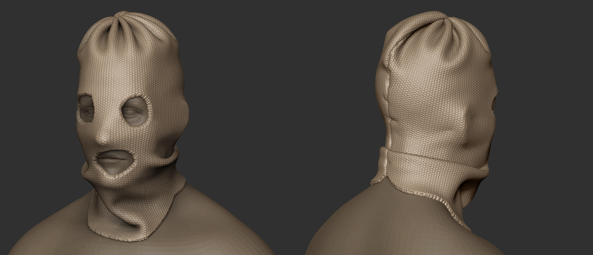 Devblog 72 rust next week id like to have the balaclava finished and id also like to have started and finished a bandanna heck i may even make two versions of the malvernweather Gallery