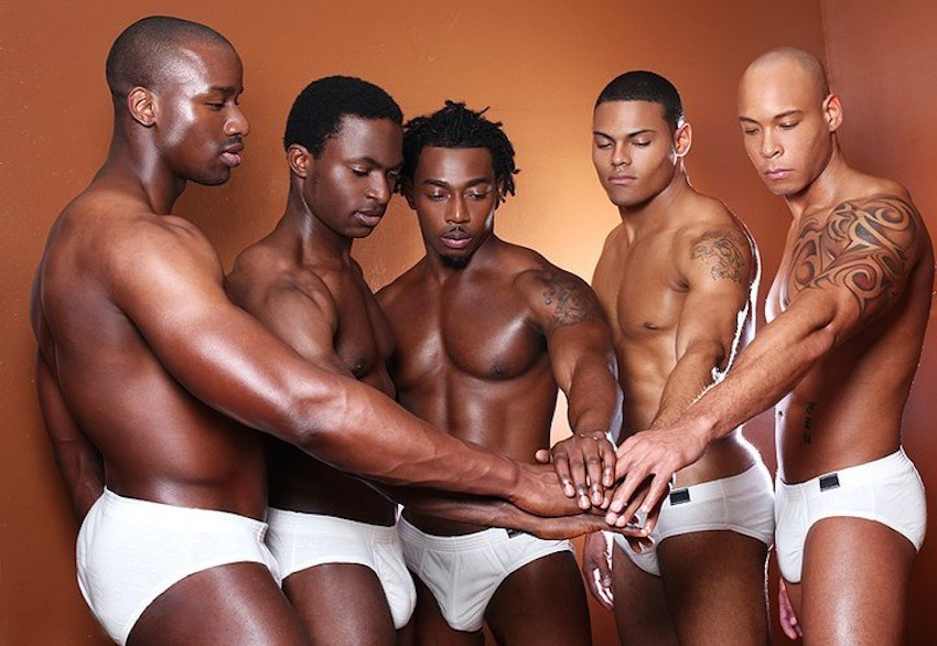 Gay black men com