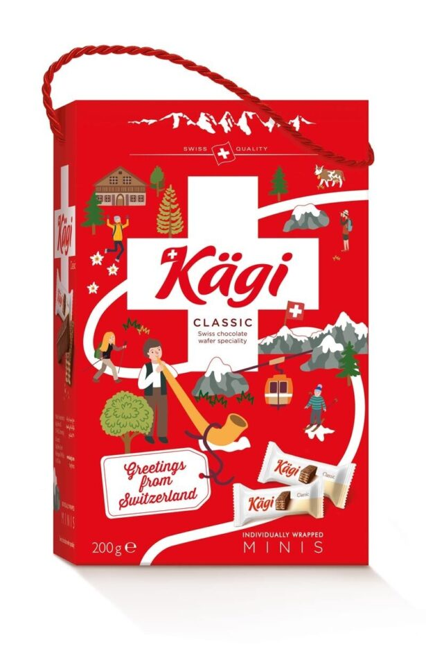 Kaegi Illustrated Gift Box 200G Version Swissness