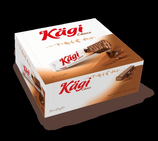 Packung Kägi Choco 25G Displaykarton À 24 Ve 1200Px