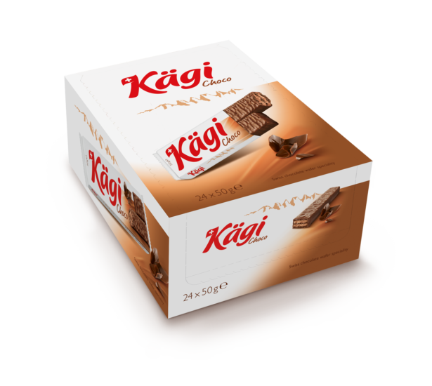 Packung Kägi Choco 50G Displaykarton À 24 Ve 1200Px