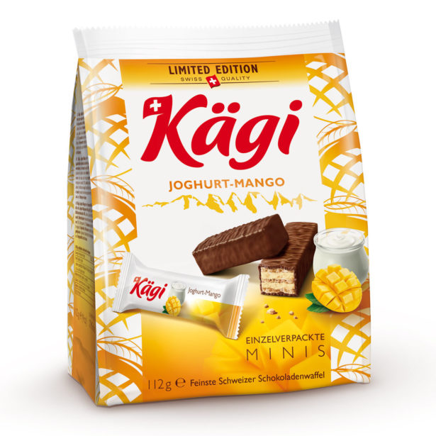 Packung Kaegi Joghurt Mango 112G