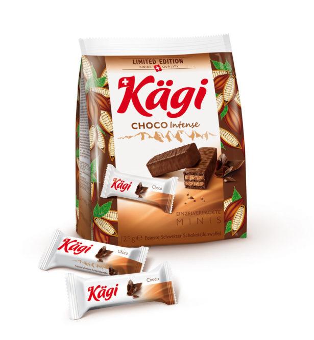 Packung Kaegi Choco Intense Limited Edition