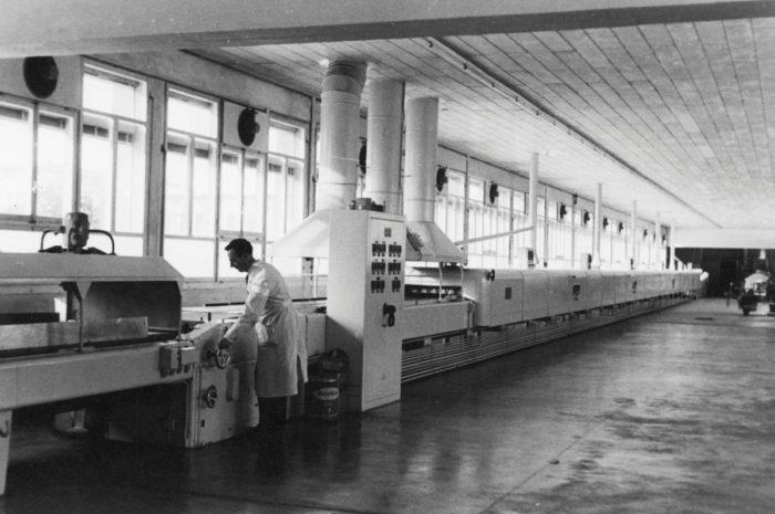 Geschichte 1955 Backofenanlage