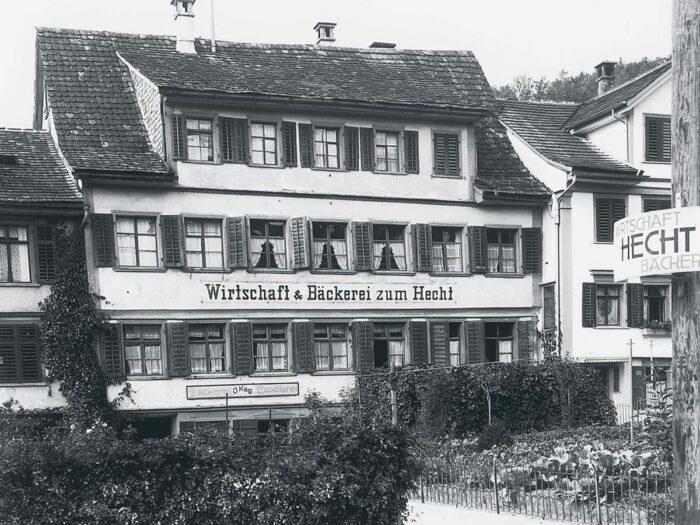 Geschichte 1934 Bäckerei Zum Hecht