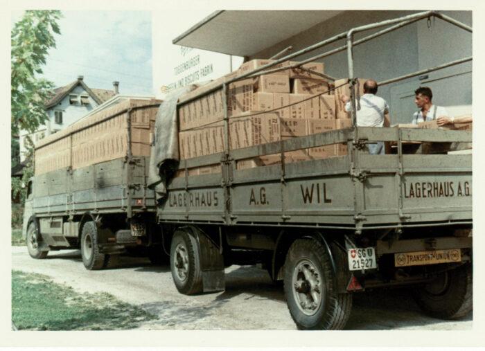 Geschichte 1956 Export Von Toggenburger Spezialitäten