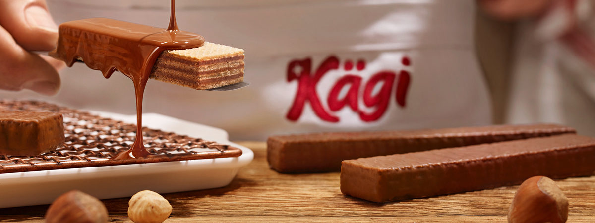 N°1 Swiss chocolate wafer | Kägi