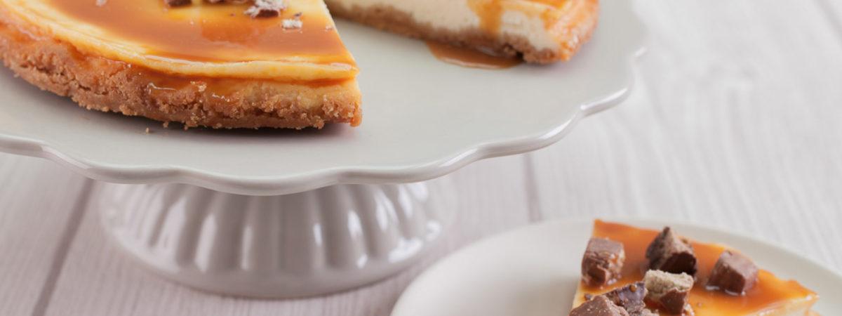 Rezept Caramel Cheesecake