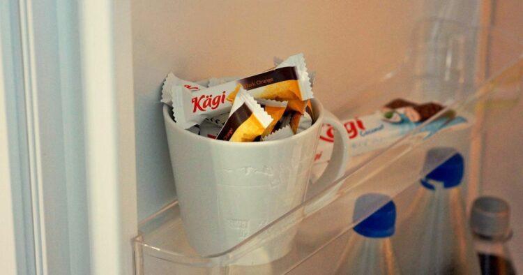 store chocolate
