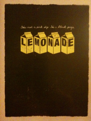 The DVD cover of Lemonade