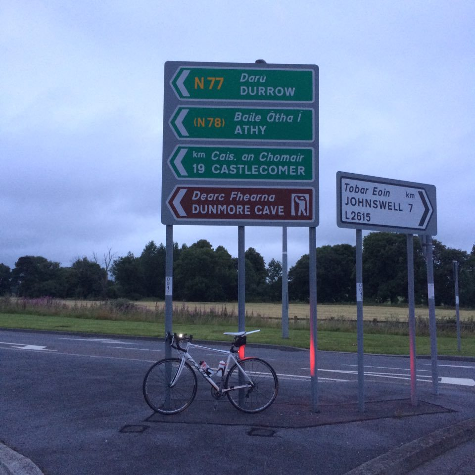 Road signs at the Johnswell Road Roundabout in Kilkenny