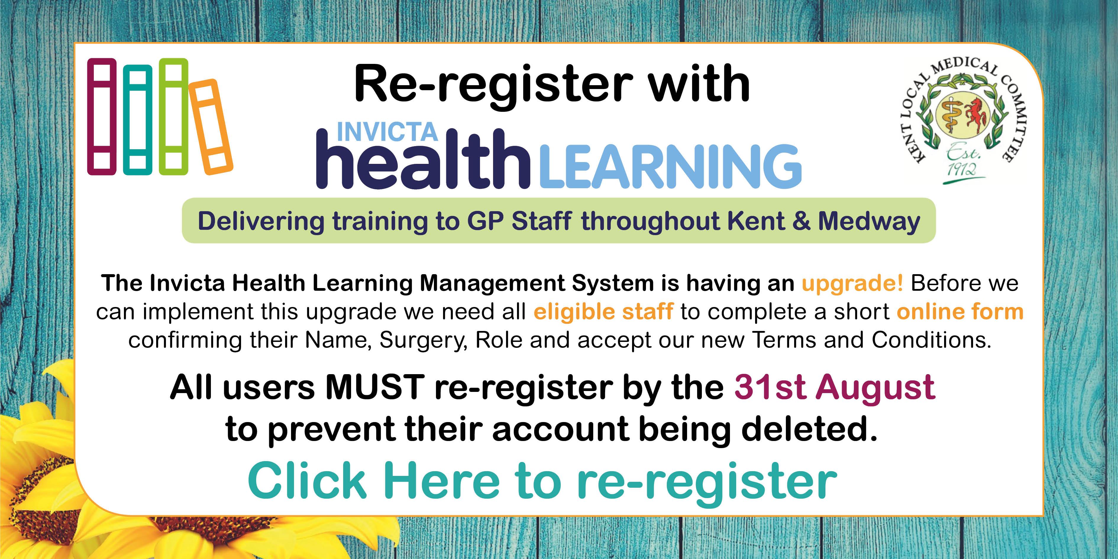 GP Staff Training Update