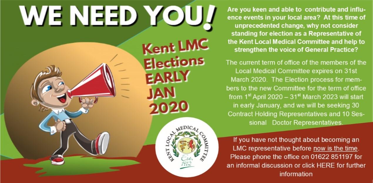 Kent LMC Election Campaign 2020