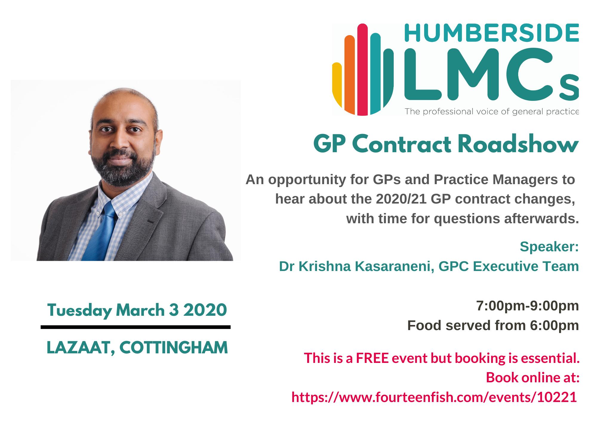 GPC Contract Roadshow 03/03/20
