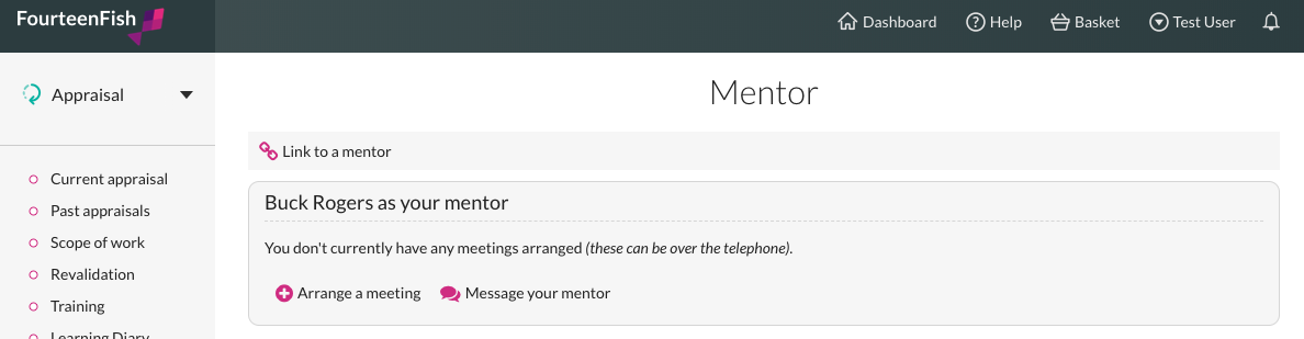 Mentor now linked