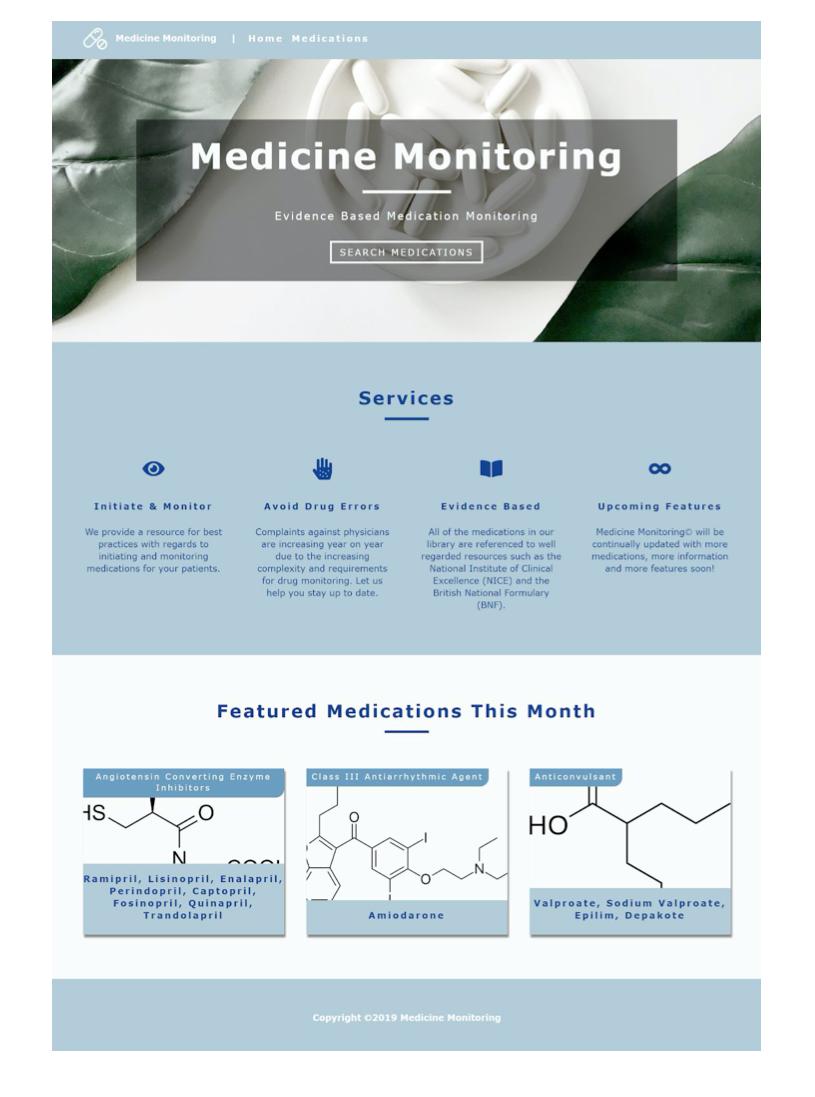 Medicine monitoring