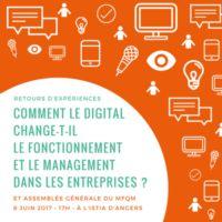 Comment le digital change-t-il le fonctionnement et le management dans les entreprises ?