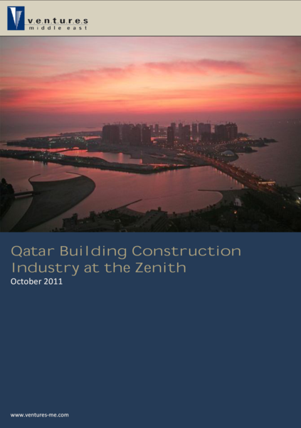 Report: Qatar Building Construction Industry at the Zenith October 2011