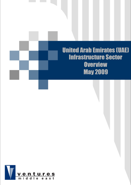 Report: UAE Infrastructure Sector Overview - May 2009
