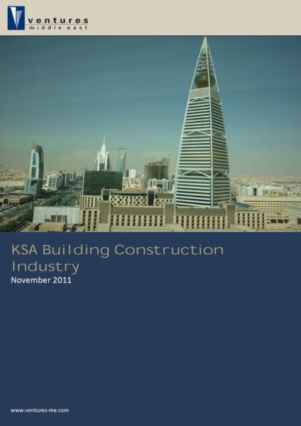 Report: KSA Building Construction Industry November 2011