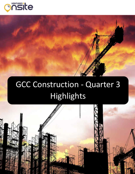 Report: GCC Construction – Quarter 3 Highlights