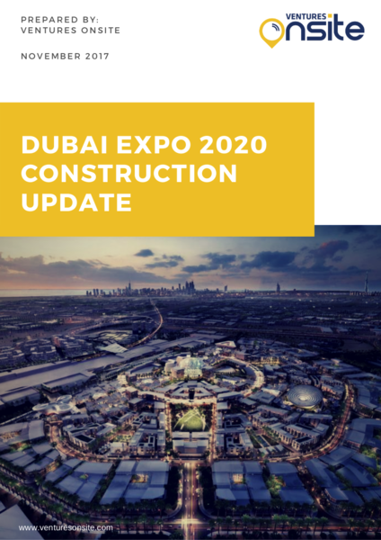 Report: Dubai Expo 2020 – Construction Update