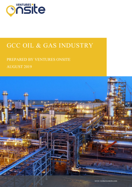 Report: GCC Oil & Gas Industry – August 2019