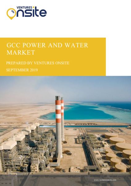 Report: GCC Power & Water Industry – September 2019